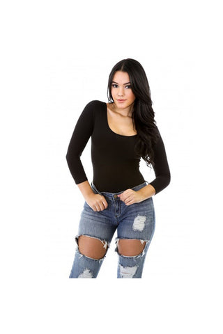 The One Body Suit-Women - Apparel - Shirts - Bodysuits-Fierce Finds Mobile Boutique