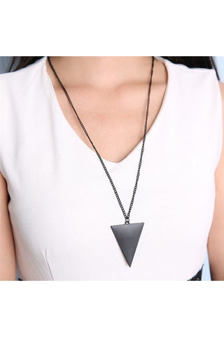Triangle Long Chain - Fierce Finds Mobile Boutique  - 1