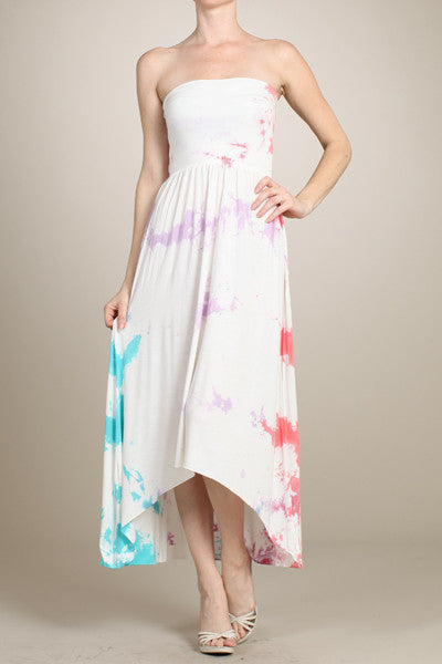 Soft Clouds 2-Way Maxi Dress - Fierce Finds Mobile Boutique  - 2