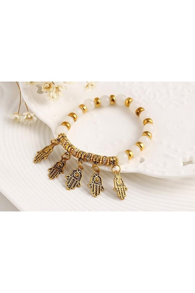 Hasma Charm Bracelet - Fierce Finds Mobile Boutique  - 4