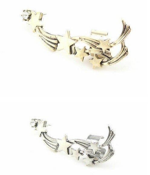 Shooting Stars Ear Cuff - Fierce Finds Mobile Boutique  - 3