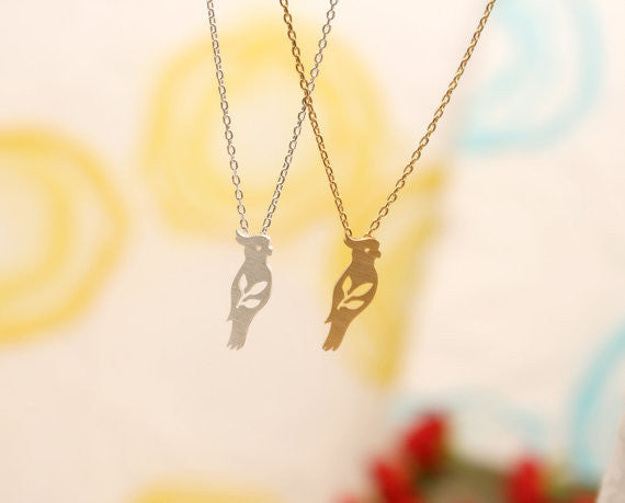 Bird Charm Necklace - Fierce Finds Mobile Boutique  - 5