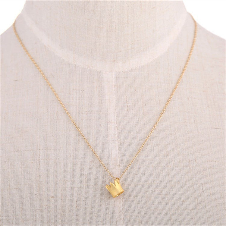 Dainty Crown Necklace - Fierce Finds Mobile Boutique  - 2