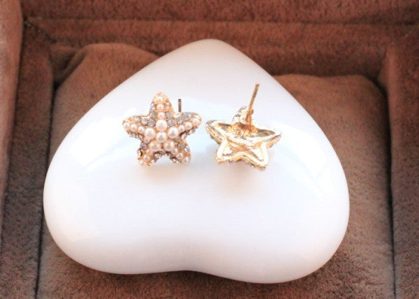 Starfish Earrings - Fierce Finds Mobile Boutique  - 5