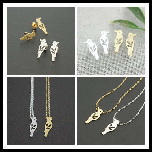 Bird Charm Necklace - Fierce Finds Mobile Boutique  - 3