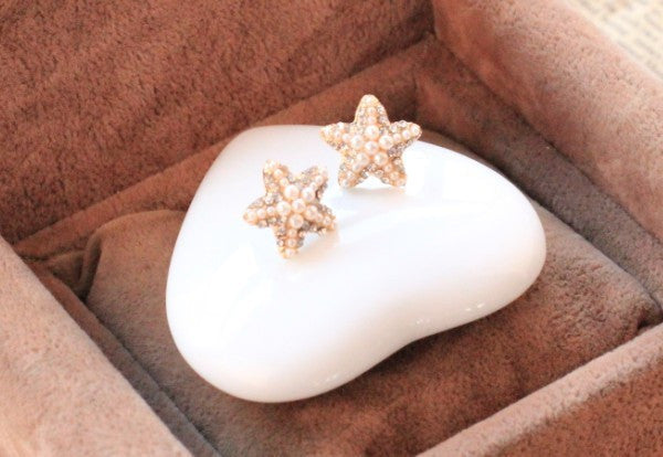 Starfish Earrings - Fierce Finds Mobile Boutique  - 4