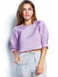 Lavender Scuba Top - Fierce Finds Mobile Boutique  - 4