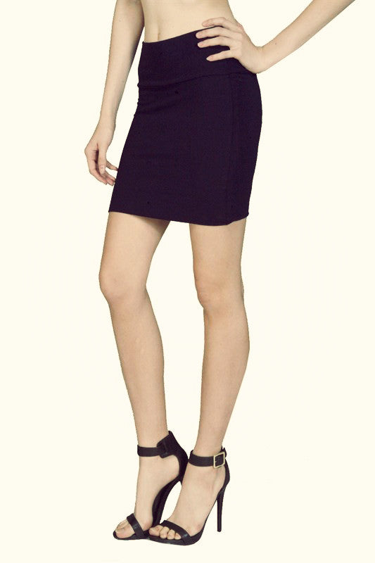 Black Bodycon Mini Skirt - Fierce Finds Mobile Boutique  - 3