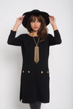 Gold Button Sheath - Fierce Finds Mobile Boutique  - 3