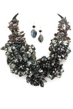 Lost Queen Statement Necklace Set - Fierce Finds Mobile Boutique  - 6