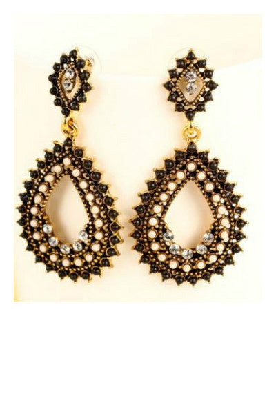 Beaded Drop Earring - Fierce Finds Mobile Boutique  - 3