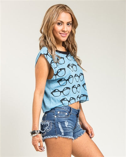 Eyeglass Tee - Fierce Finds Mobile Boutique  - 3