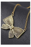 Bow Necklace - Fierce Finds Mobile Boutique  - 2