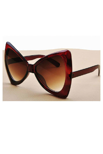 Bows & Cat Eyes Sunglasses-Sunglasses-Fierce Finds Mobile Boutique