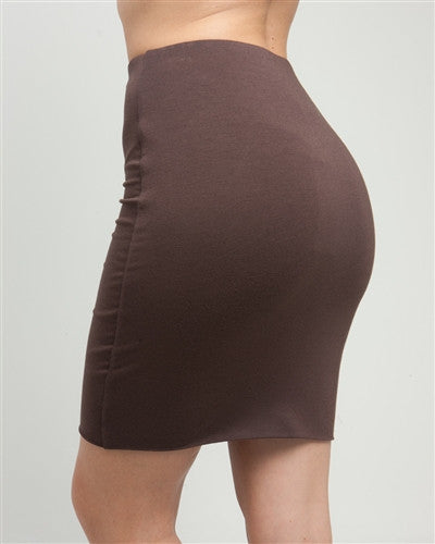 Brown Stretch Mini Skirt - Fierce Finds Mobile Boutique  - 4