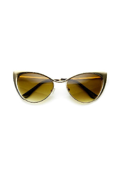 Cat Eye Tinted Sunglasses - Fierce Finds Mobile Boutique  - 4