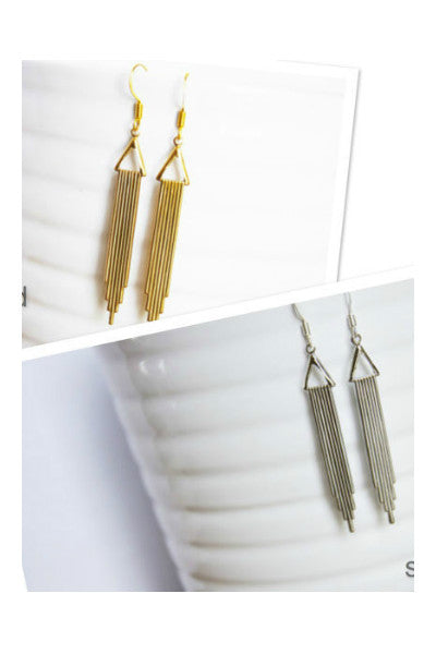 Handcrafted City Earrings - Fierce Finds Mobile Boutique  - 4
