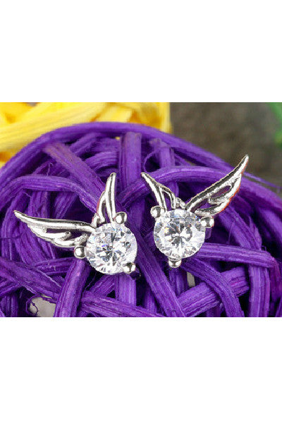Sophisticated Wing Stud Earrings - Fierce Finds Mobile Boutique  - 2