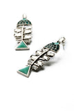 Fish Bone Earring - Fierce Finds Mobile Boutique  - 2