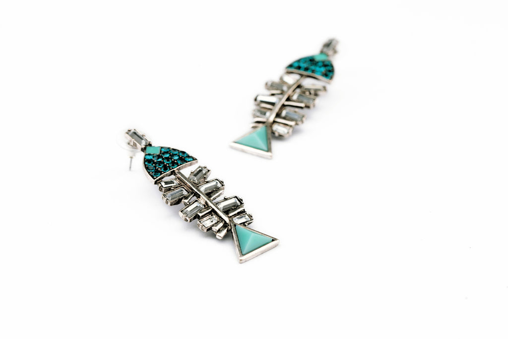 Fish Bone Earring - Fierce Finds Mobile Boutique  - 7