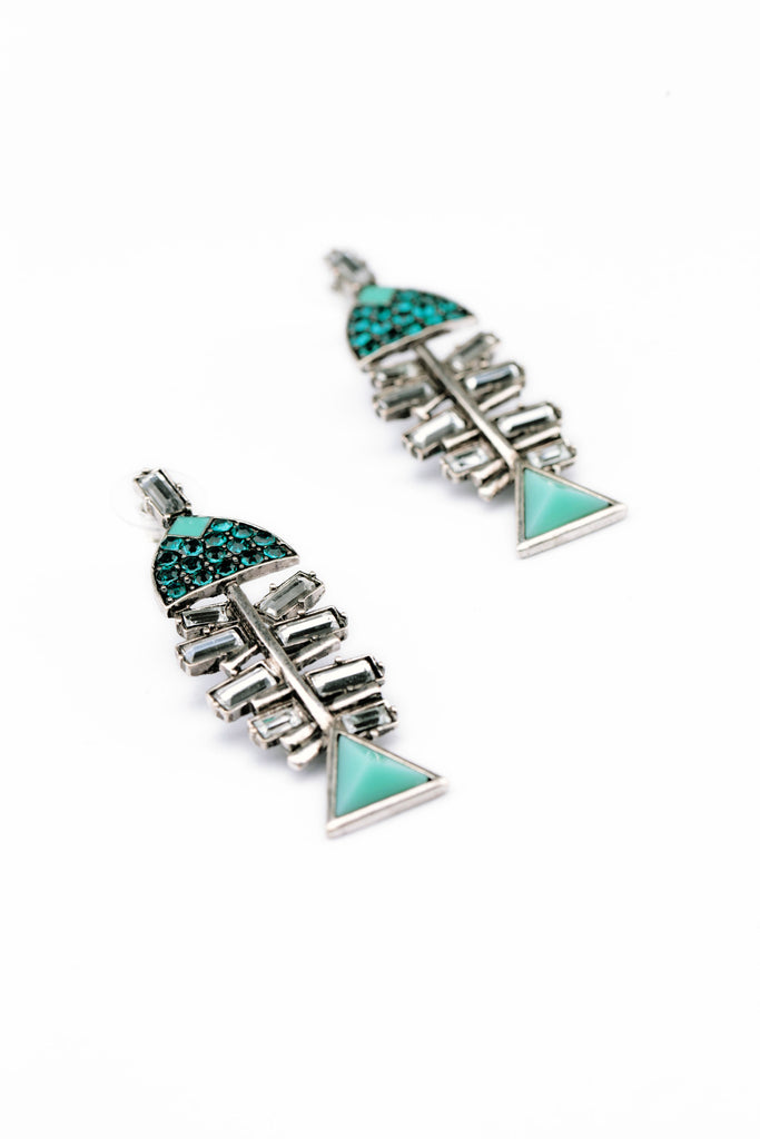 Fish Bone Earring - Fierce Finds Mobile Boutique  - 6
