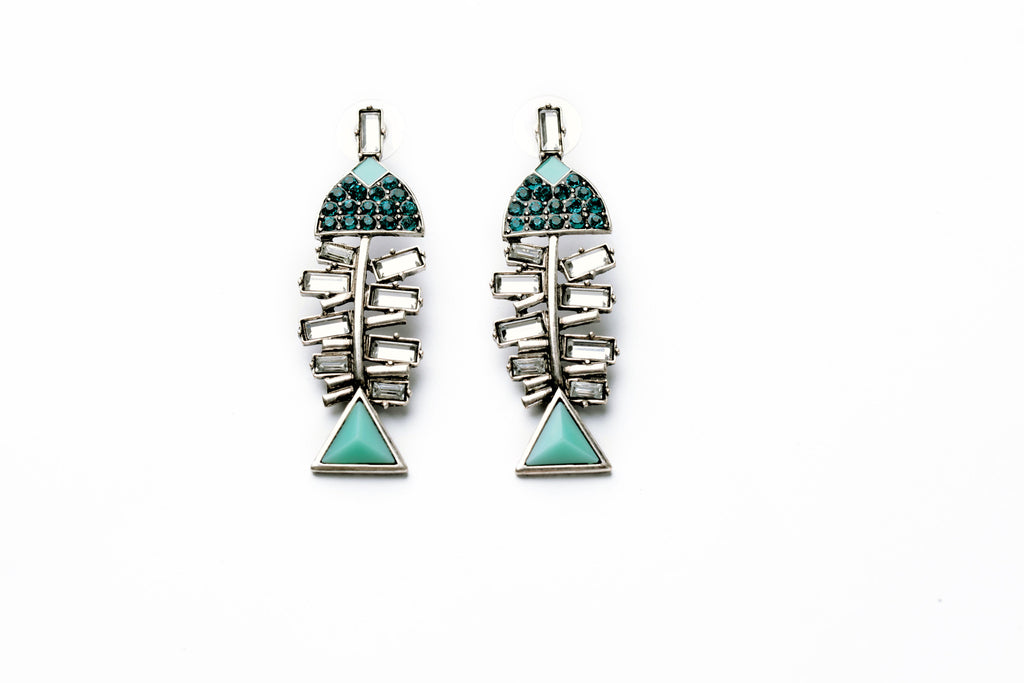 Fish Bone Earring - Fierce Finds Mobile Boutique  - 4
