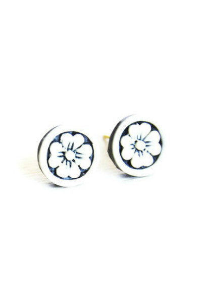 Handcrafted Flower Studs - Fierce Finds Mobile Boutique  - 3