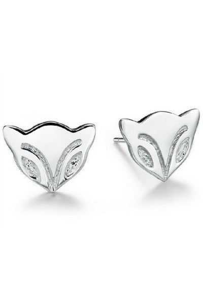 Foxy Studs Sterling Silver - Fierce Finds Mobile Boutique  - 3