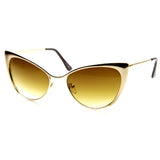 Cat Eye Tinted Sunglasses - Fierce Finds Mobile Boutique  - 2