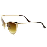 Cat Eye Tinted Sunglasses - Fierce Finds Mobile Boutique  - 8
