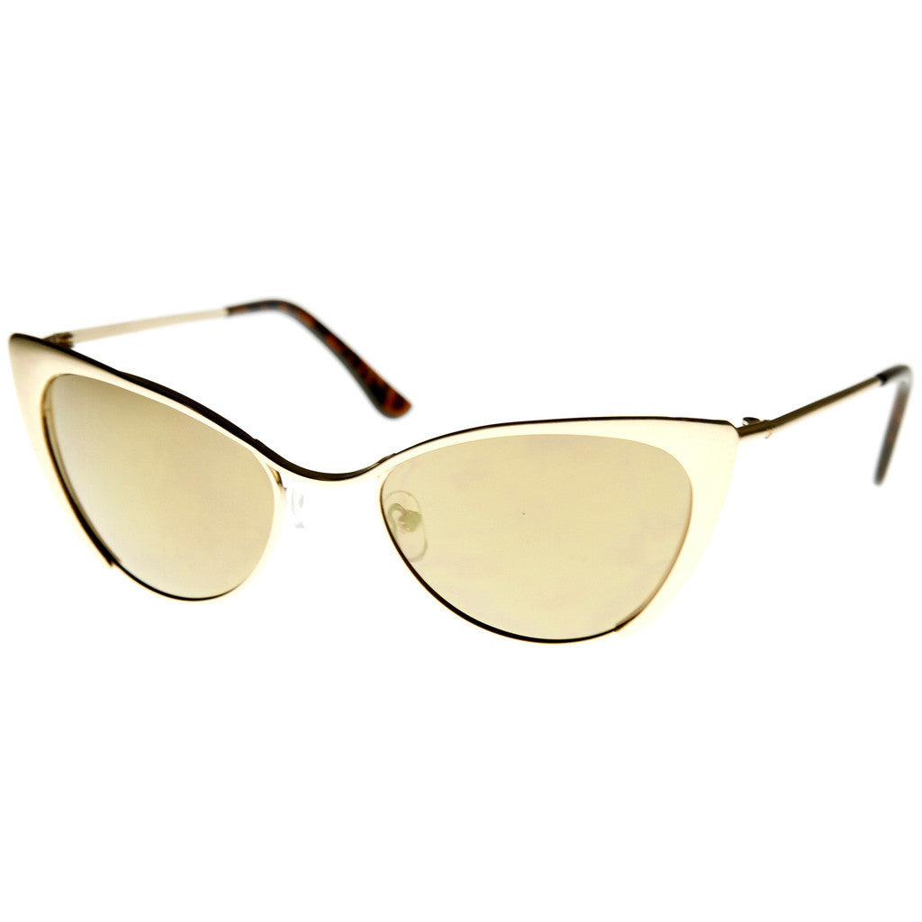 Cat Eye Tinted Sunglasses - Fierce Finds Mobile Boutique  - 3