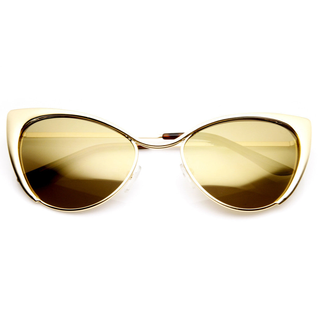 Cat Eye Tinted Sunglasses - Fierce Finds Mobile Boutique  - 6