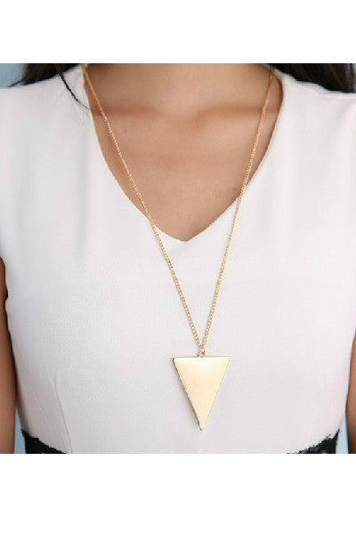 Triangle Long Chain - Fierce Finds Mobile Boutique  - 3