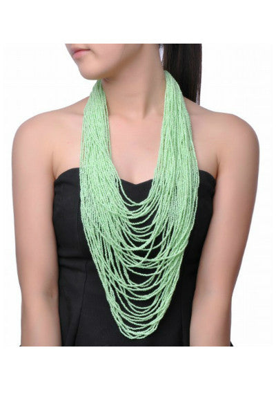 Colorful Multi-Strand Necklace - Fierce Finds Mobile Boutique  - 6