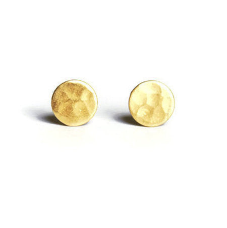 Handcrafted Hammered Studs - Fierce Finds Mobile Boutique  - 3