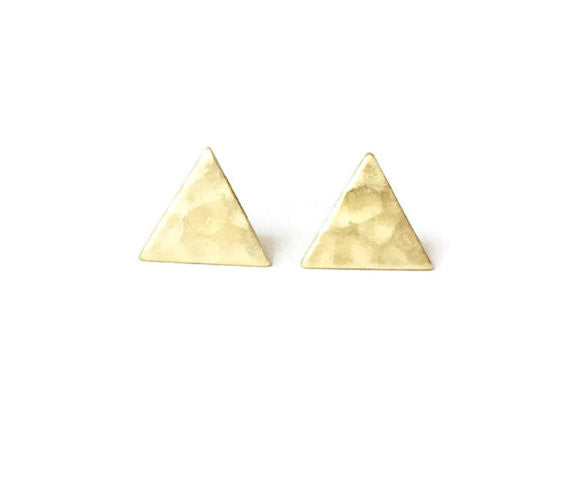 Handcrafted Hammered Studs - Fierce Finds Mobile Boutique  - 2