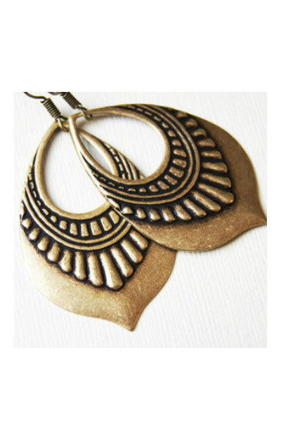 Handcrafted Tribal Earrings - Fierce Finds Mobile Boutique  - 4