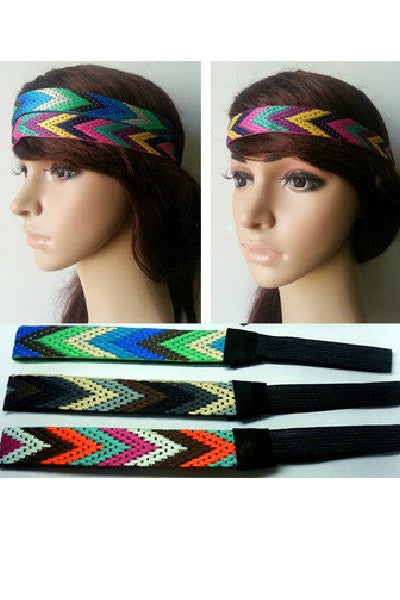 Aztec Headband - Fierce Finds Mobile Boutique  - 2
