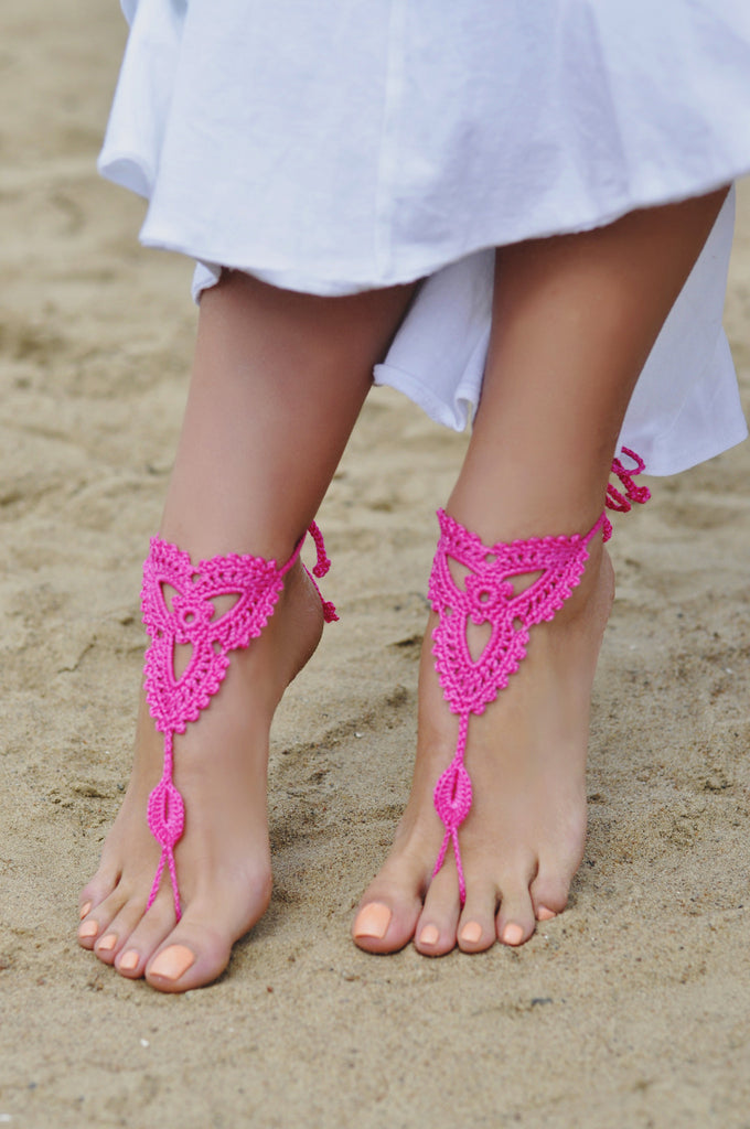 Handcrafted Barefoot Sandal-Women - Jewelry - Bracelets-Fierce Finds Mobile Boutique