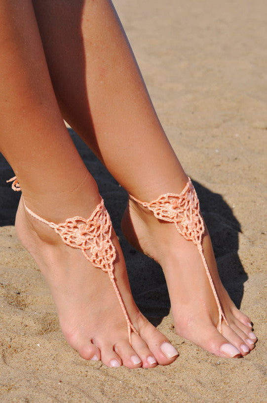 Handcrafted Barefoot Sandal - Fierce Finds Mobile Boutique  - 2