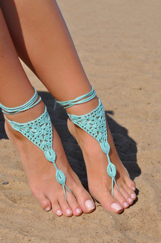 Handcrafted Barefoot Sandal - Fierce Finds Mobile Boutique  - 5