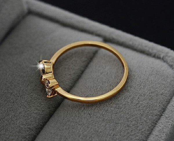 Gold Bow Ring - Fierce Finds Mobile Boutique  - 5