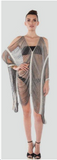 Handmade Fringe Poncho Dress - Fierce Finds Mobile Boutique  - 2