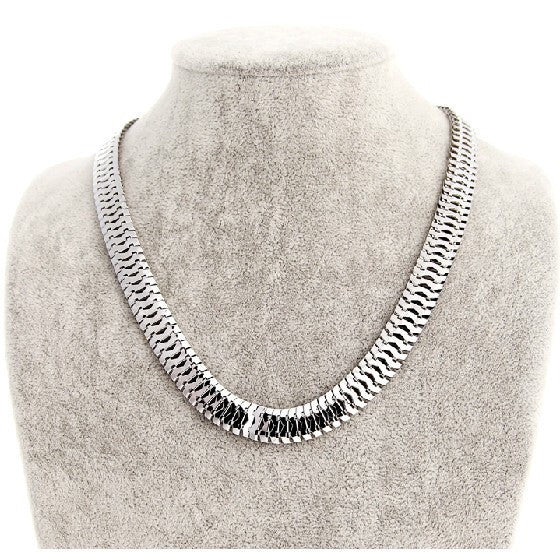 Herringbone Necklace - Fierce Finds Mobile Boutique  - 2