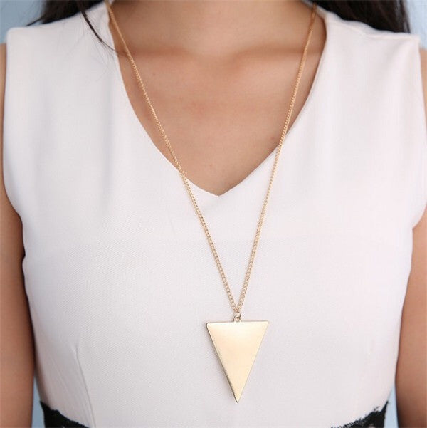 Triangle Long Chain - Fierce Finds Mobile Boutique  - 4