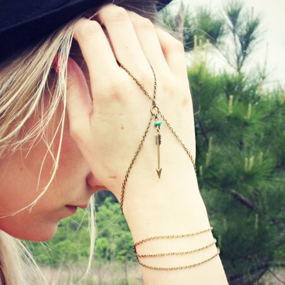 Dainty Hand Chain - Fierce Finds Mobile Boutique  - 2