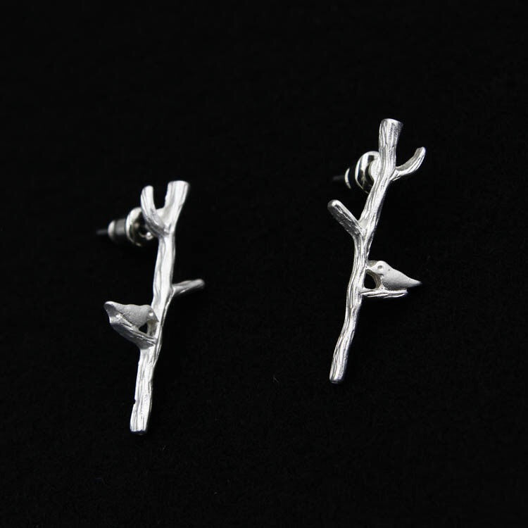 Bird Branch Earrings - Fierce Finds Mobile Boutique  - 1