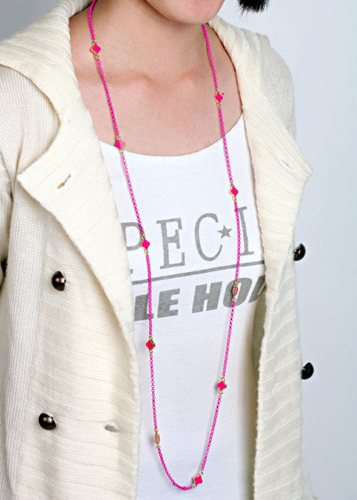 Small Clover Layered Necklace - Fierce Finds Mobile Boutique  - 7
