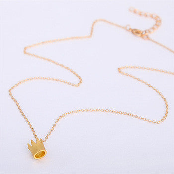 Dainty Crown Necklace - Fierce Finds Mobile Boutique  - 3