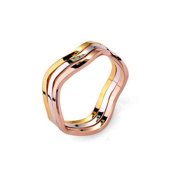 Multi Metal Stack Ring - Fierce Finds Mobile Boutique  - 2